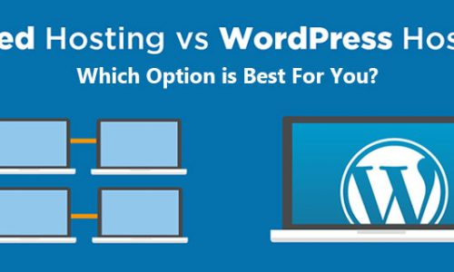 Shared Hosting vs. WordPress Hosting: Which Option is Best For You?